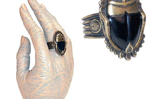 The Mummy Imhoteps Scarab Ring Prop Replica Coming In