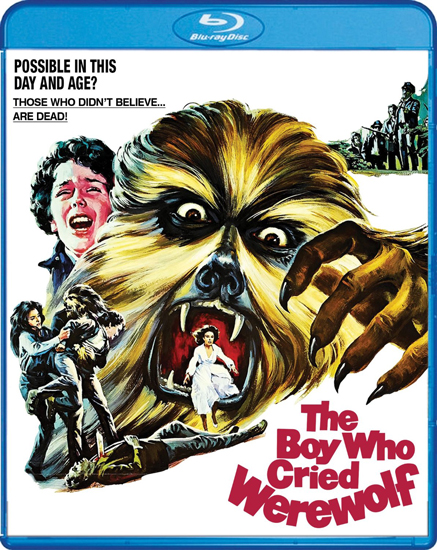 The Boy Who Cried Werewolf [Blu-ray]