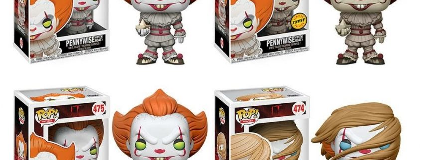 Vinyl Figure NEW IN BOX Funko 2017 - Pennywise with Wig US Exclusive Pop It