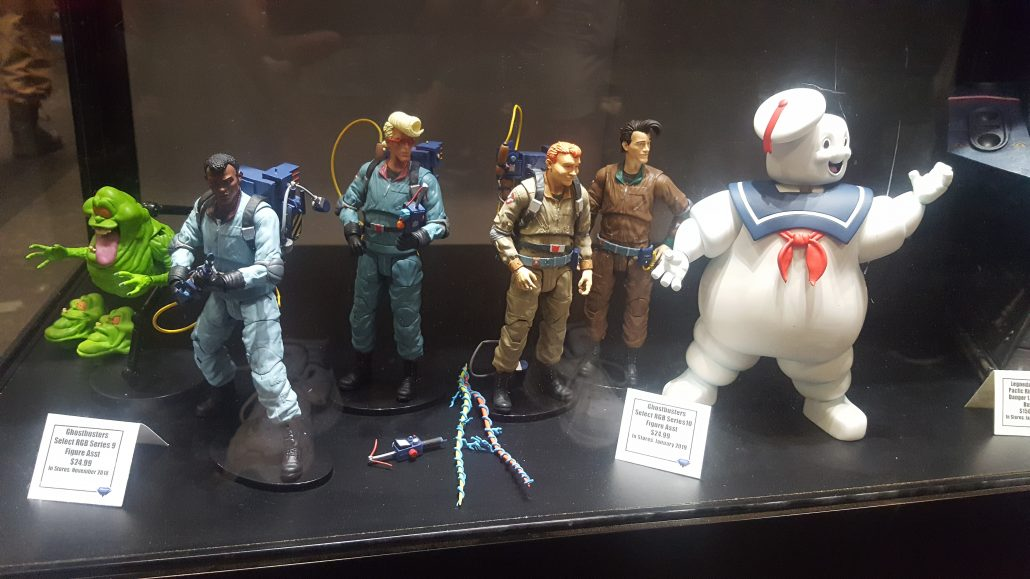 The Real Ghostbusters figures will be available on January, 2019; you can own The Nightmare Before Christmas toys as early as this month!