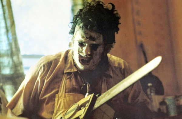 Leatherface as played by Gunnar Hansen in Texas Chainsaw Massacre