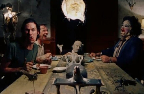 Texas Chainsaw Massacre dinner scene