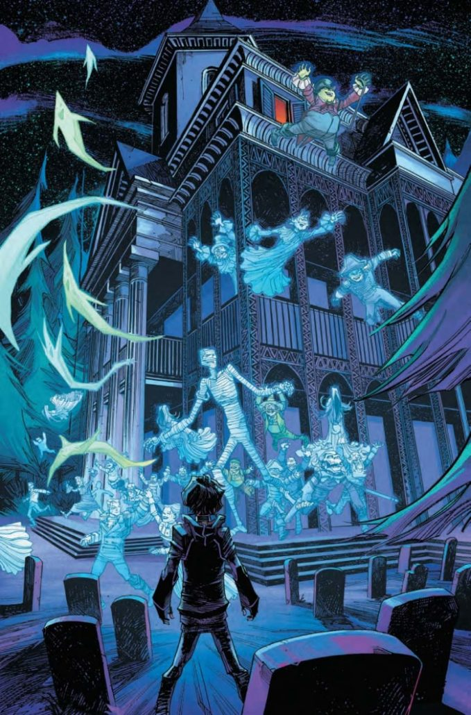 Mansion Drawing: The Haunted Mansion #5 Preview