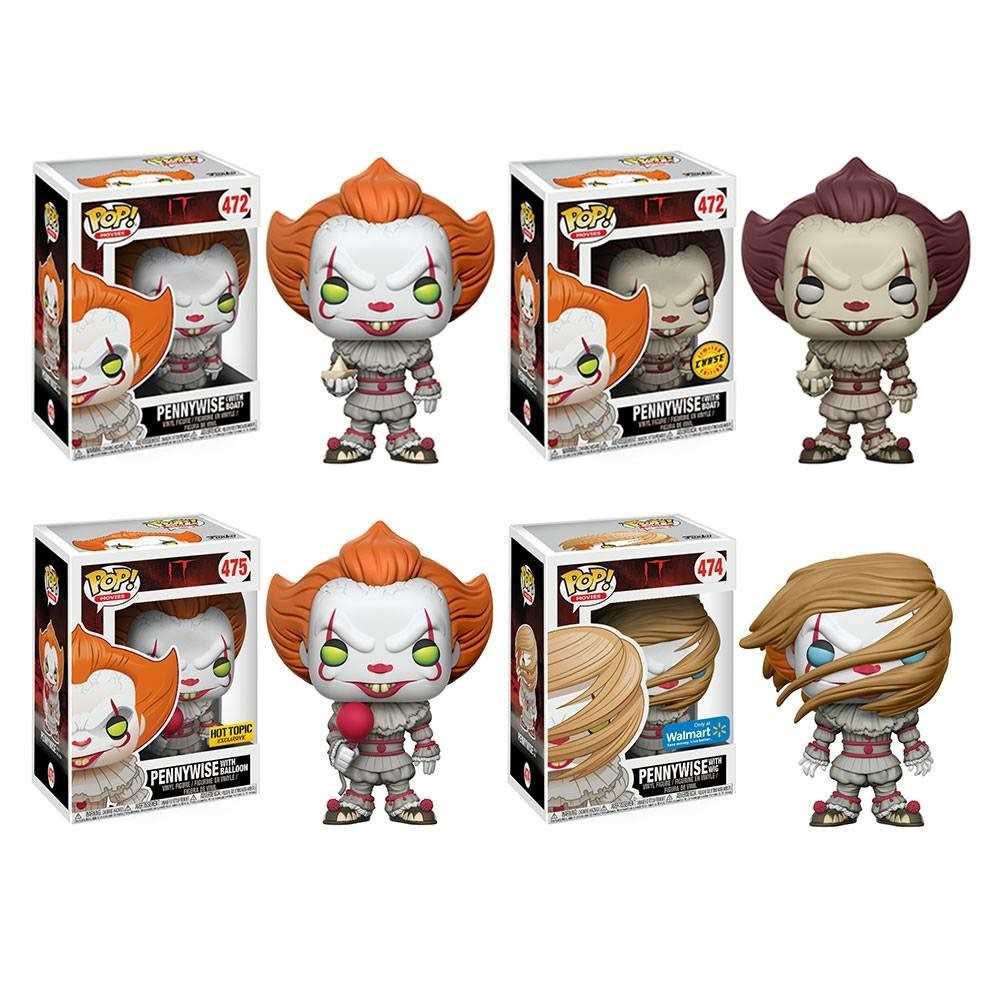 Funko Announces New Line Of Pennywise Pop Vinyls Horror
