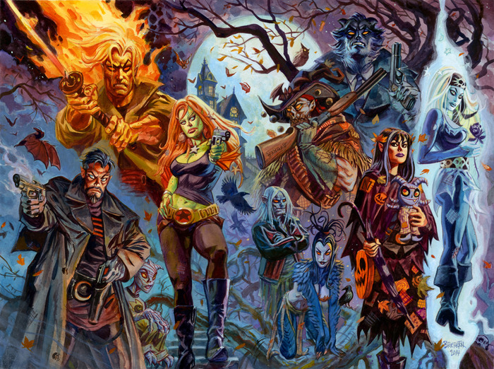 Image result for the nocturnals comic books