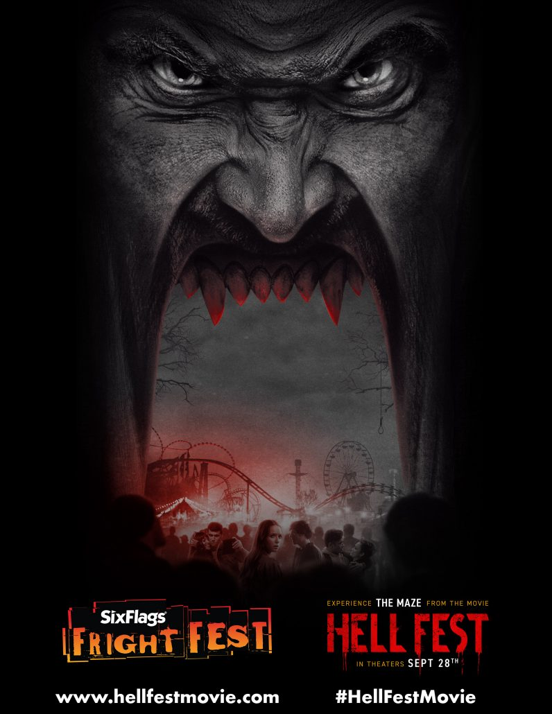 six flags fright fest to become hell fest this fall