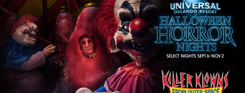 Universal Studios Halloween Horror Nights 2019.Killer Klowns From Outer Space Return To Universal Orlando S